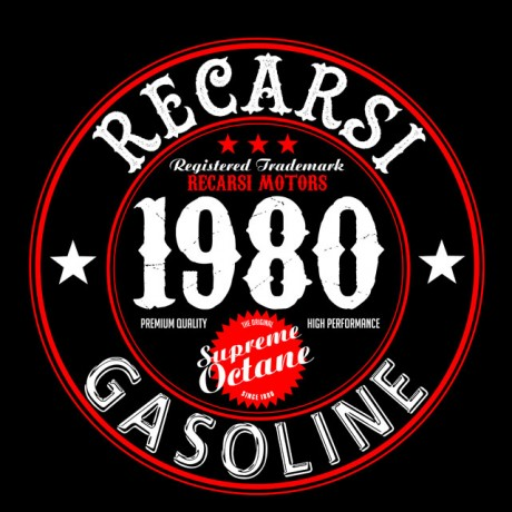 Recars-Gasoline-Logo-Men